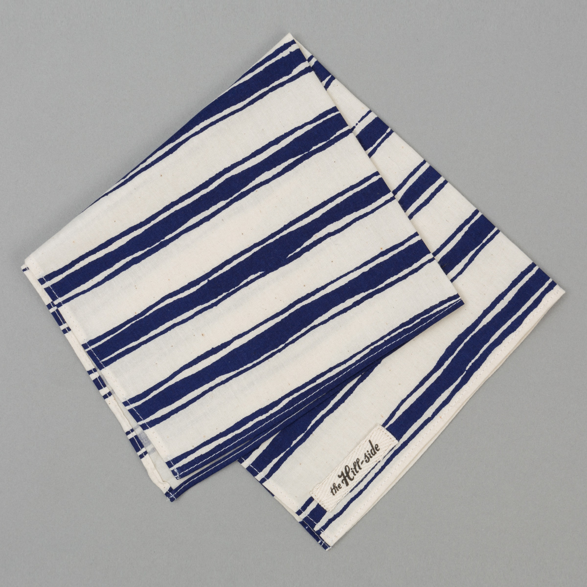The Hill-Side Endo Stripes Pocket Square