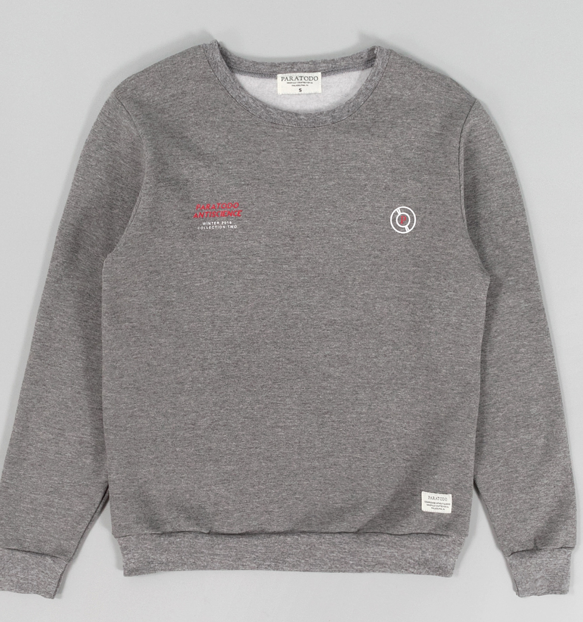 Paratodo Antiscience Sweatshirt, Grey