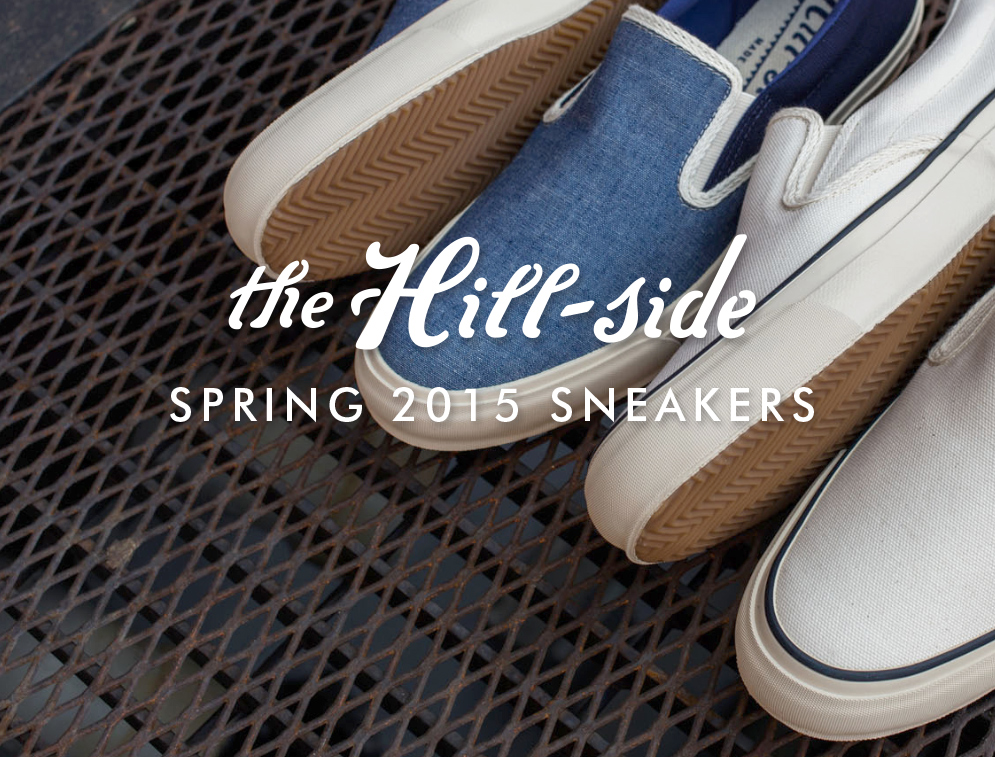 The Hill-Side Spring/Summer 2015 Sneakers Lookbook, Cover Image