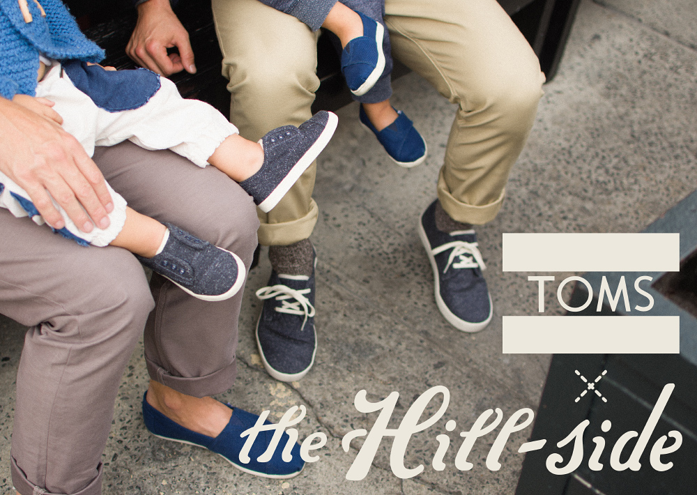 TOMS x The Hill-Side Lookbook, Cover Image