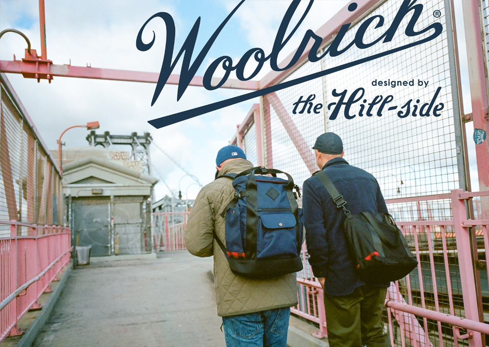 The Hill-Side for Woolrich Lookbook, Cover Image