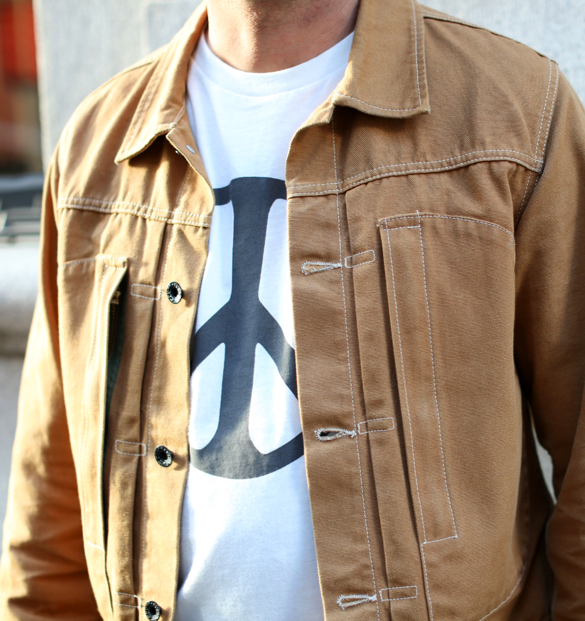 The Hill-Side Japanamerica Type II Jacket, American Brown Duck
