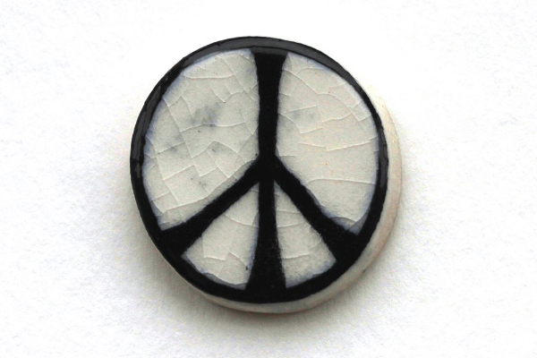 The Peace Sign T-Shirt, Black