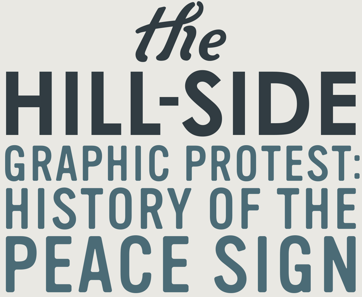 Graphic Protest: History of the Peace Sign