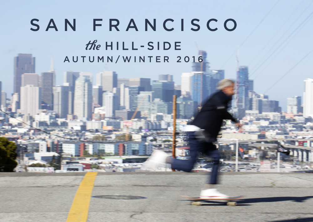 The Hill-Side San Francisco Lookbook, Cover Image