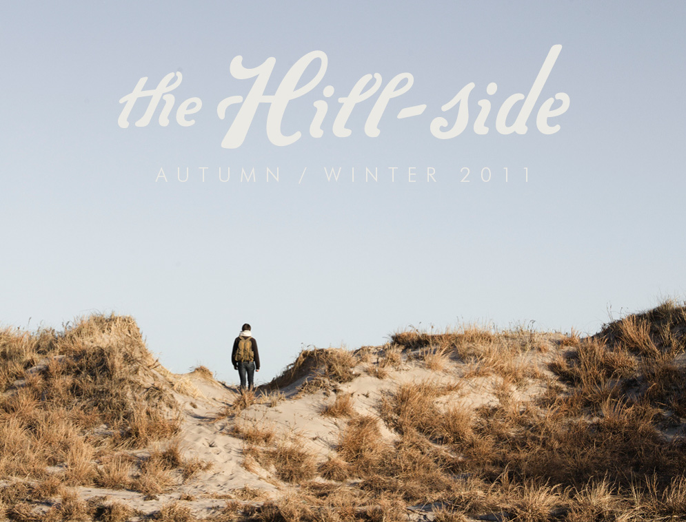The Hill-Side Autumn/Winter 2011 Lookbook, Cover Image
