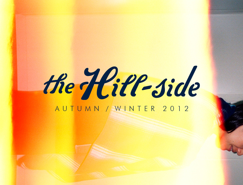 The Hill-Side Autumn/Winter 2012 Lookbook, Cover Image
