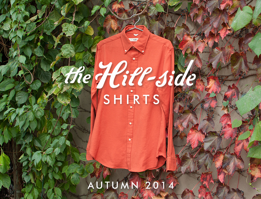 The Hill-Side Autumn/Winter 2014 Shirts Lookbook, Cover Image