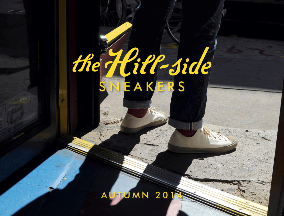 The Hill-Side Autumn/Winter 2014 Sneakers Lookbook, Cover Image
