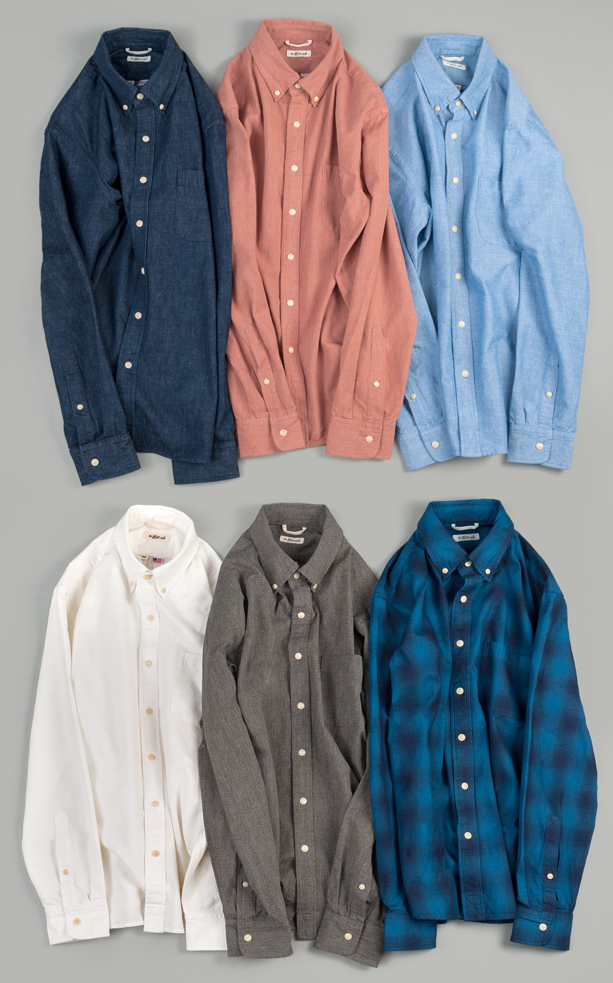The Hill-Side New Fall Shirts