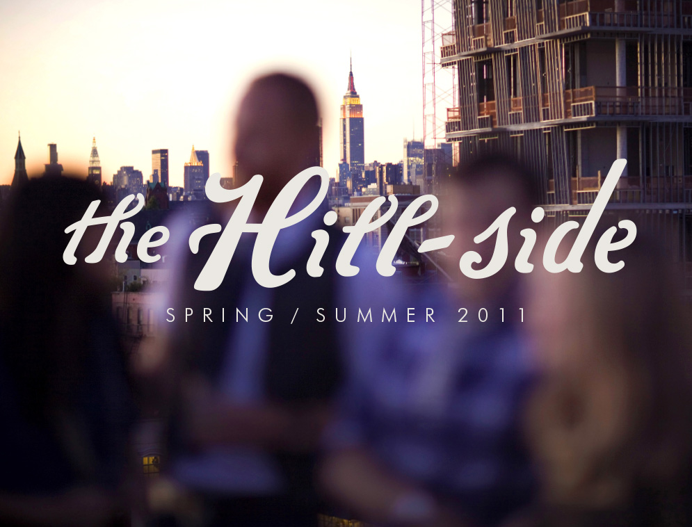 The Hill-Side Spring/Summer 2011 Lookbook, Cover Image