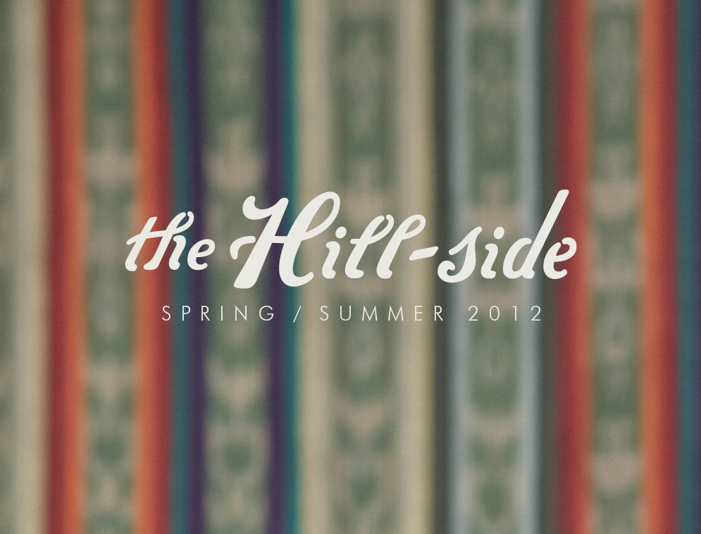 The Hill-Side Spring/Summer 2012 Lookbook, Cover Image