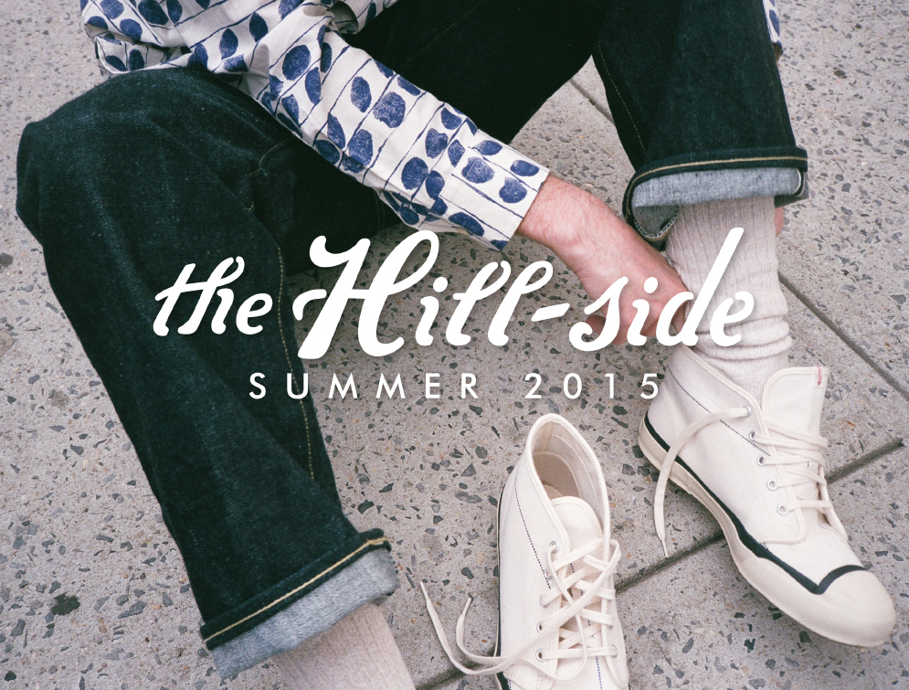 The Hill-Side Summer 2015 Lookbook, Cover Image